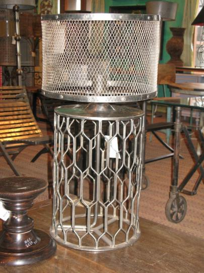 Round Cage Lamp