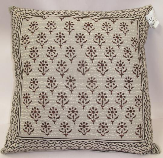 Tribal Daisy Cushion Cover
