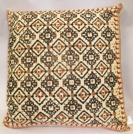 Tribal Diamonds Cushion Cover