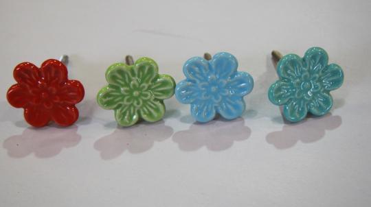 Flower Knobs