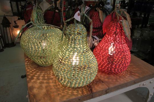 Pear & apple Lamps