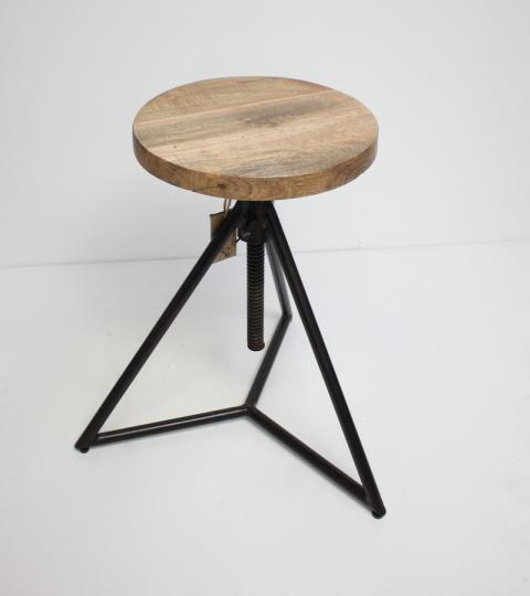 Pyramid Wind up Stool