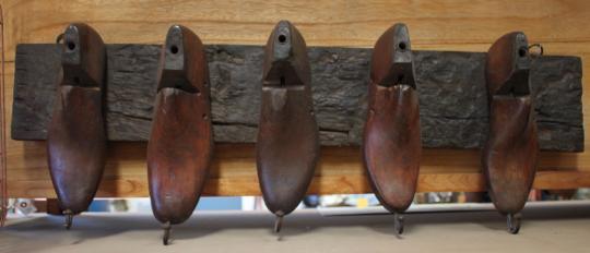 Shoe Last Coat Rack