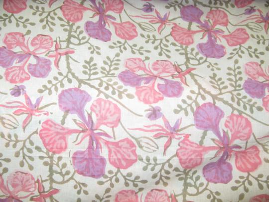 Fabric-Pink Garden