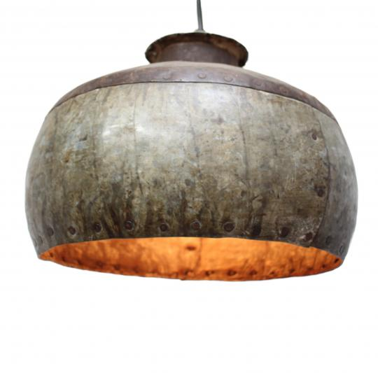 Indian water vessel light shade
