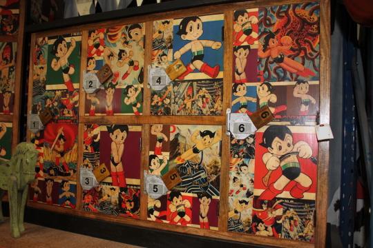 Astro Boy 6 Door Locker