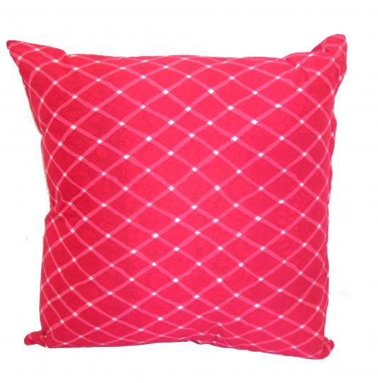 Pink Print cushion cover