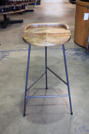 TRIANGLE BASE STOOL