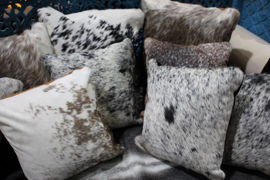 Cow hide Cushion Covers